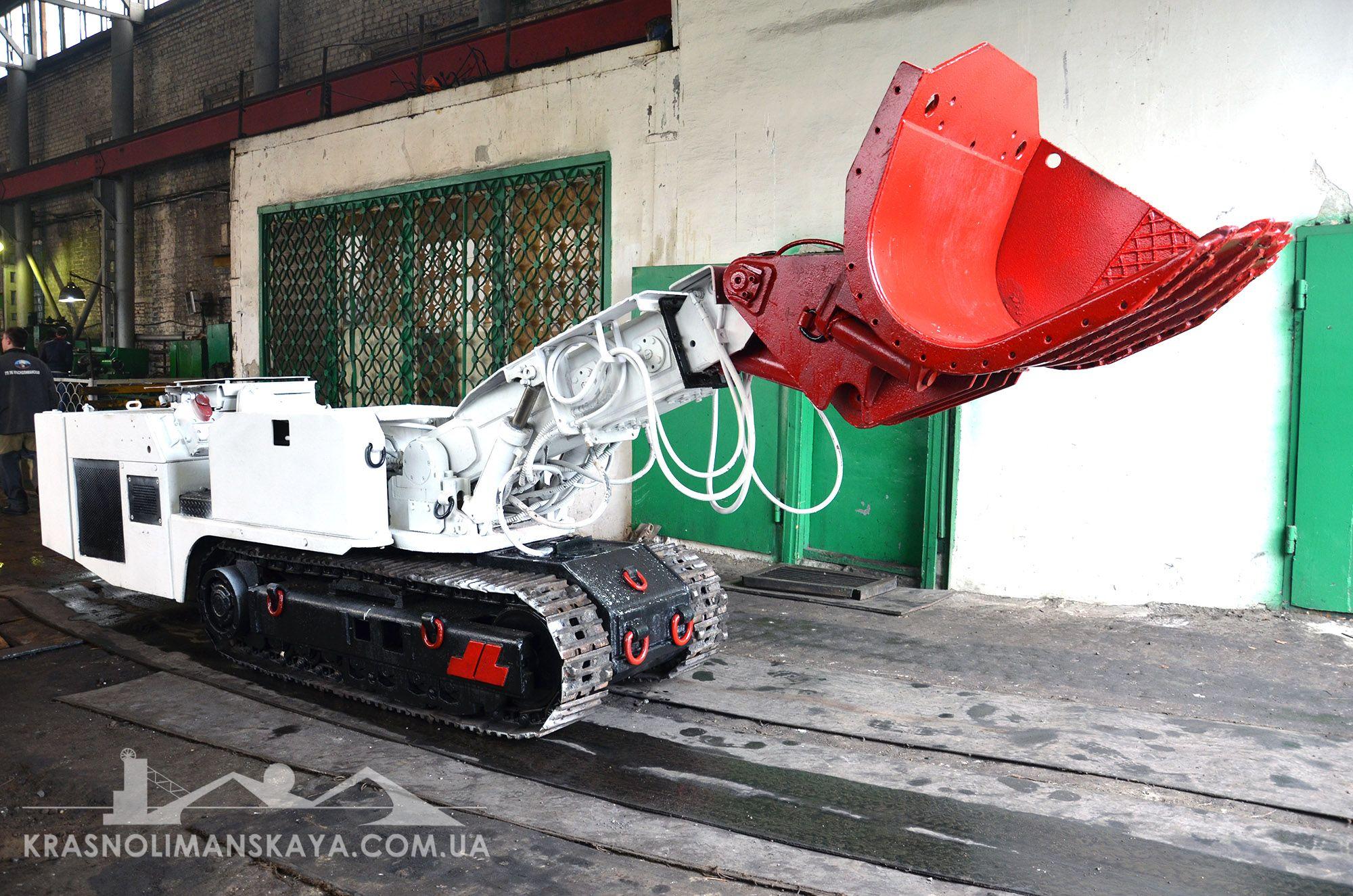 Штрекоподдирочной машина DH-250T после капитального ремонта ремонта.