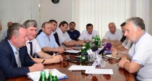 Руководители «Краснолиманской» встретились с губернатором Донецкой области П. Жебривским