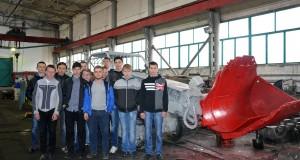 Первокурсники Родинского профлицея посетили «Краснолиманскую» (Фото 6)
