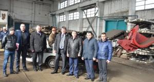 В кротчайшие сроки, специалисты РЗО-1 с рабочими участка № 10 в цехе МДРЗО-1 реанимировали штрекоподдирочноую машину ДН250Т
