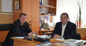 Замначальника А.М. Фаткиев и и.о. замначальника А.А. Легконогов