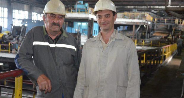Николай Петрович Лихач с сыном Андреем Николаевичем Лихач