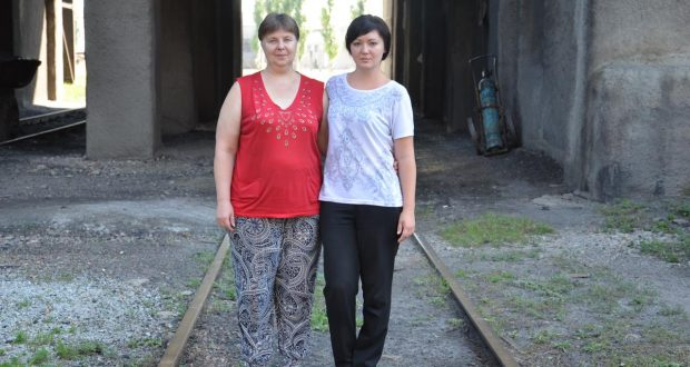 Лариса Анатольевна Намазова с дочерью Натальей