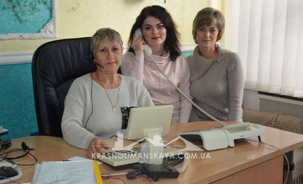 Телефонистки Татьяна Панычева, Виктория Артемова и Татьяна Дубинина
