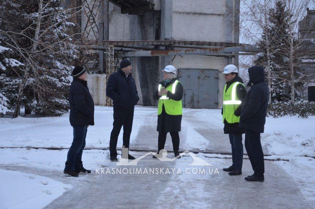 ДП «ВК «Краснолиманська» відвідали експерти проекту USAID